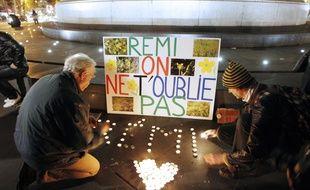 Lors d'une manifestation en hommage à Rémi Fraisse, à Paris (illustration).