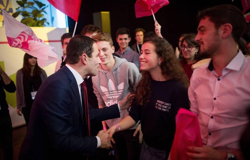 e9d6164a5f Primaire à gauche  «On peut être jeune et éclairé»... Ils ont moins de 18  ans et votent à la primaire