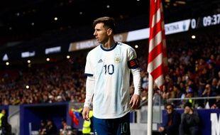 Lionel Messi face au Venezuela