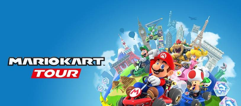 La version mobile du jeu «Mario Kart Tour» sera disponible le 25 septembre.