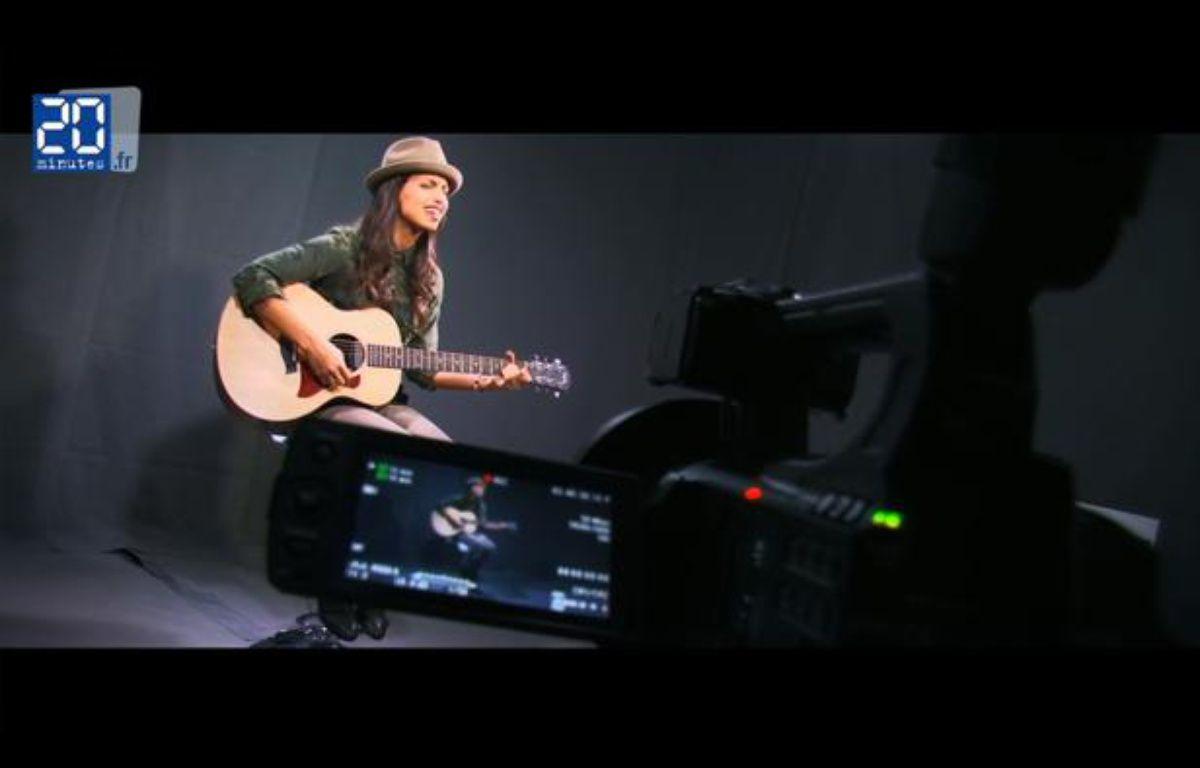 La chanteuse Tal en live dans le studio de «20 Minutes» – JD-TL / 20 Minutes