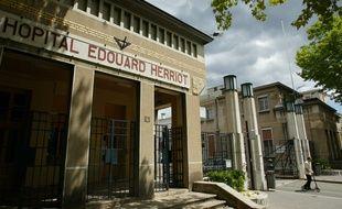 L'entrée de l'hopital Edouard HERRIOT de Lyon, le 19 juin 2011. CYRIL VILLEMAIN/20 MINUTES