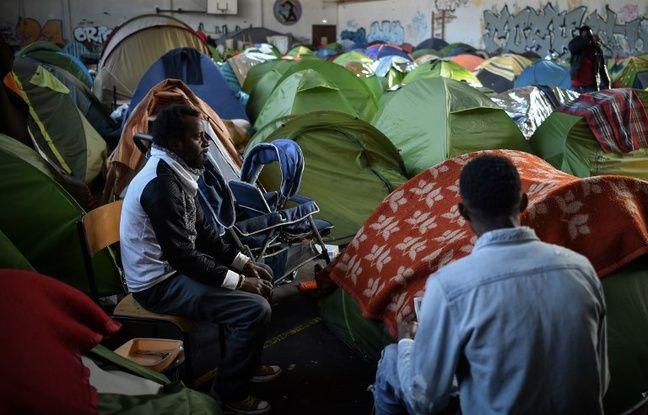 Migrants à Nantes: Opération de police au gymnase Jeanne-Bernard, 50 personnes mises à l'abri