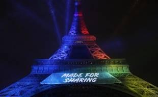 Made for sharing sera la slogan de Paris 2024