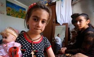 Christena, 6 ans, a été enlevée puis détenue par l'organisation Etat islamique pendant trois ans