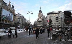 A Stockholm, le 7 décembre dernier.