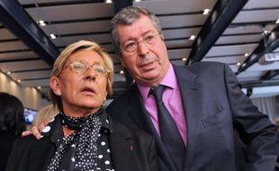Isabelle Balkany et son mari, le maire de Levallois Patrick Balkany, en 2011 à Nanterre.