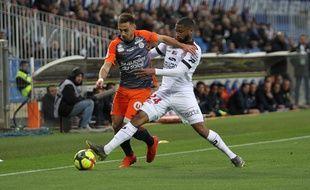 Montpellier / Guingamp : Ruben Aguilar et Marcus Coco.