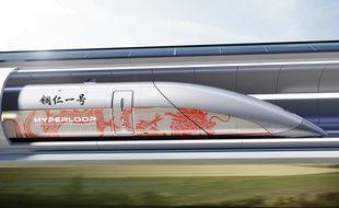 La première ligne d'Hyperloop TT en Chine devrait voir le jour à Tongren dans la province de Guizhou.