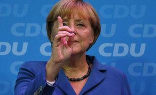 Angela Merkel enchaîne un troisième mandat de chancelière pendant 4 ans, après son trimple aux législatives de dimanche 22 septembre 2013.