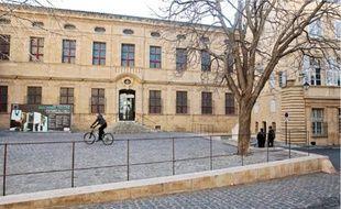 Le musée Granet, qui accueille les grandes expositions aixoises.