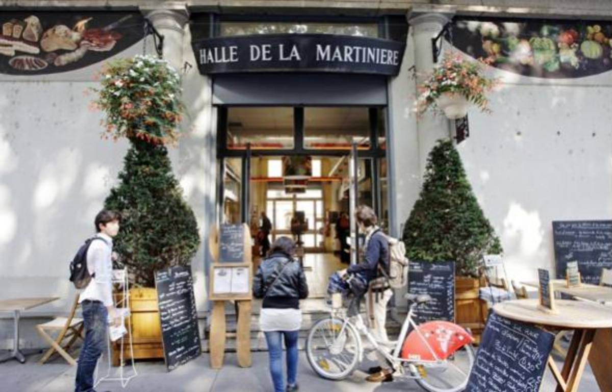 La Halle de la Martinière, bâtie en 1838, a été le premier marché couvert de Lyon. – E. FOUDROT / 20 MINUTES