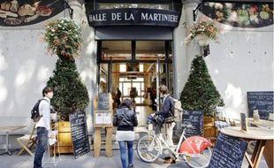 La Halle de la Martinière, bâtie en 1838, a été le premier marché couvert de Lyon.