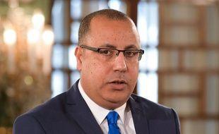 Le nouveau Premier ministre tunisien Hichem Mechichi, à Tunis le 27 février 2020.