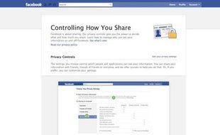 La nouvelle interface Facebook de contrôle des données personnelles dévoilée le 26 mai 2010