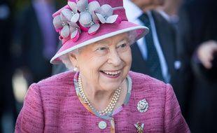 La reine Elizabeth lors d'une visite officielle en juillet. Elle a fêté ses 91 ans en juin.