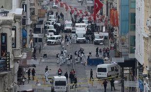 Ce samedi 19 mars 2016, un attentat suicide a fait 4 morts et 39 blessés à Istanbul