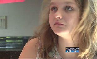 Juliette, 15 ans, souffre d'autisme.