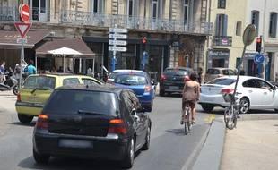 Le secteur Saint-Denis, l'un des endroits les plus pollués de Montpellier (Archives)