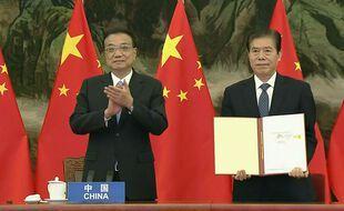 Le RCEP place l'a Chine au centre de des échanges commerciaux asiatiques