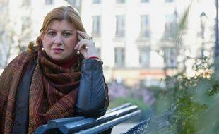 Dounia Bouzar,le 14 mars 2003 à Paris