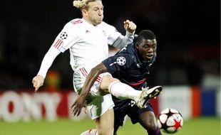 Lamine Gassama (ici faceà Liverpool) évoluera au poste d'arrière droit contre l'OM.