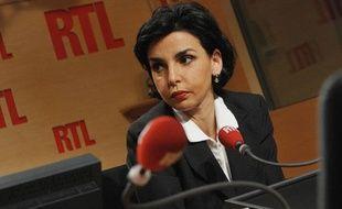 Rachida Dati, le 7 avril 2010 à RTL.