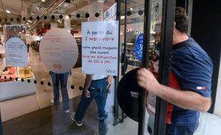 Un magasin ouvert le dimanche à Marseille