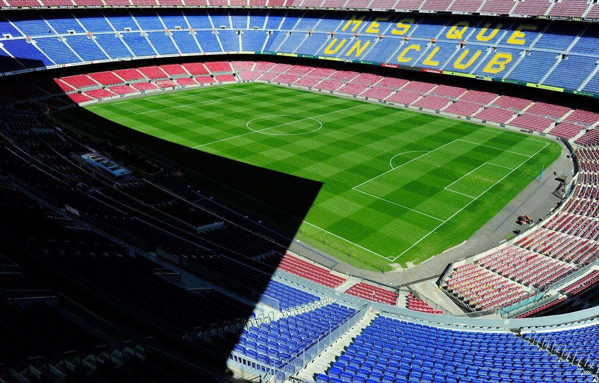 Le Camp Nou vide – AFP