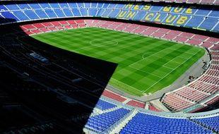 Le Camp Nou vide