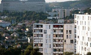 La cité de la Savine située dans le 15e arrondissement de Marseille