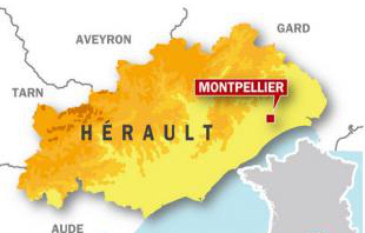 Carte de situation de Montpellier. – IDE