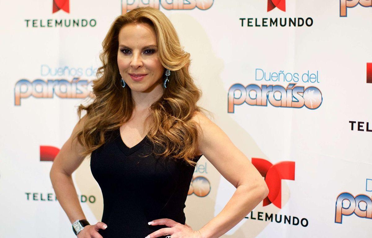 Kate del Castillo à New York le 10 janvier 2015. – SIPANY/SIPA