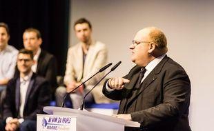 Franck de Lapersonne se présente pour le FN dans la Somme aux élections législatives de juin 2017.