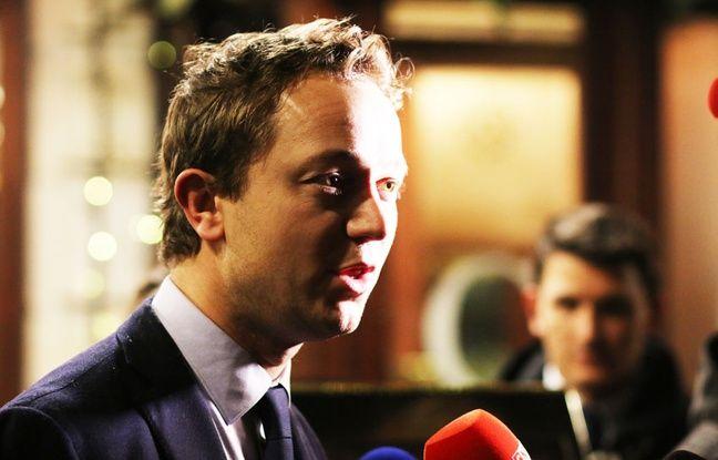 Maël de Calan (Les Républicains) à Bordeaux le 5 décembre 2017.