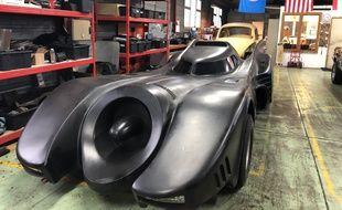 La Batmobile se refait une beauté