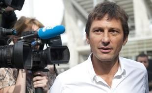 L'ancien directeur général du PSG, Leonardo, en août 2013