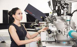 Sophie d'Ambrosio, boursière L'Oréal-Unesco pour les femmes et la science