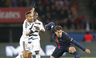 Benjamin Stambouli et les Parisiens ont porté le record de matchs sans défaite à 33 après avoir battu Lorient (3-1), le 3 février 2016.