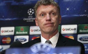 L'entraîneur de Manchester United David Moyes.