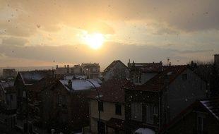Photo prise d'une fenêtre à Nogent-sur-Marne.