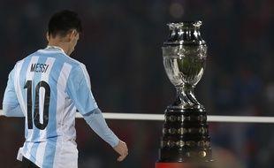 Lionel Messi n'a pas réussi à offrir la Copa America à sa sélection, battue en finale par le Chili, le 4 juillet 2015.