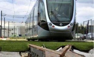Le tramway effectue un rodage de 500 km.