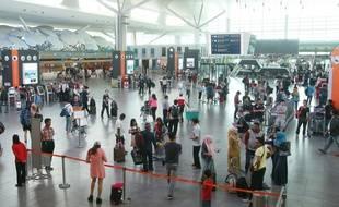 L'aéroport de Kuala Lumpur à Sepang en Malaisie le 24 février 2017.