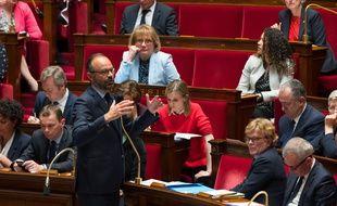 Edouard Philippe à l'Assemblée nationale, le 21 mai 2019.
