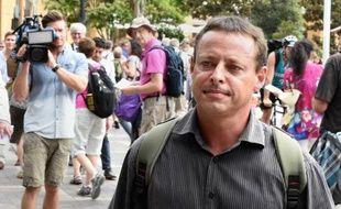 L'ancien détenu de Guantanamo David Hicks à Sydney le 19 février 2015