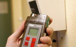 Un détecteur de monoxyde de carbone (Illustration)