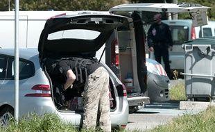 Plusieurs opérations de police sont en cours en France.