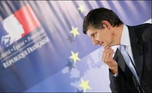 Le ministre des Affaires européennes, Jean-Pierre Jouyet, le 21 mai 2007 à Bruxelles