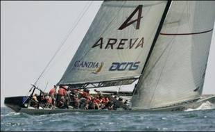 Le défi français Areva Challenge, battu samedi par les Américains de BMW Oracle, a perdu toute chance de participer aux demi-finales de la Coupe Louis-Vuitton, épreuve éliminatoire de la Coupe de l'America.